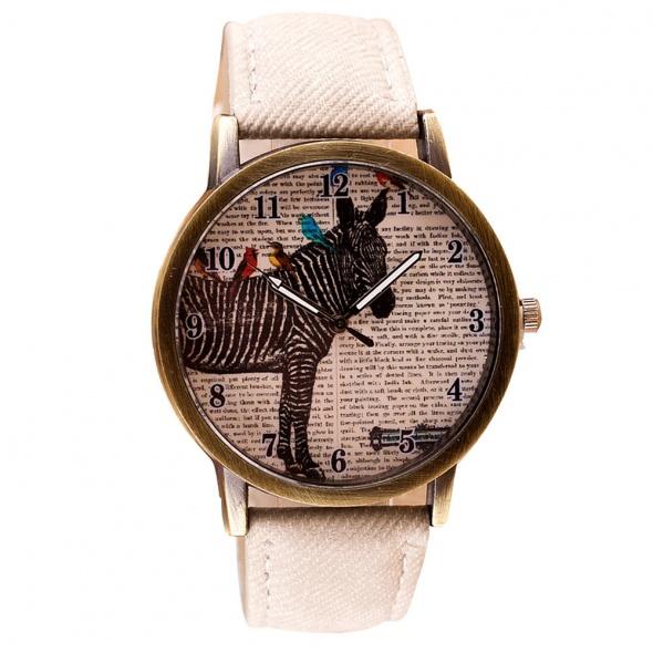 Jasno Beżowy Zegarek