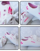Tenisówki Adidas z różem