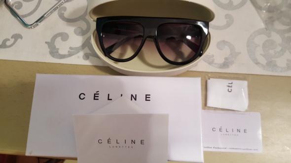 aeb5fab2ddad Celine Eleganckie okulary przeciwsłoneczne Glamour w Okulary - Szafa.pl