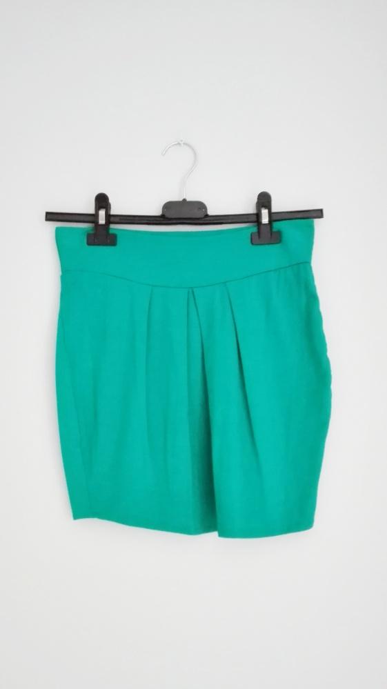 Spódnice Turkusowa mini spódniczka