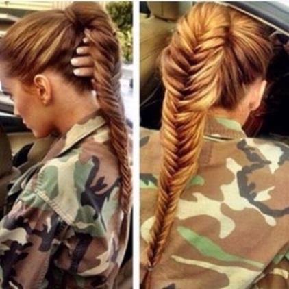 Codzienne hair look