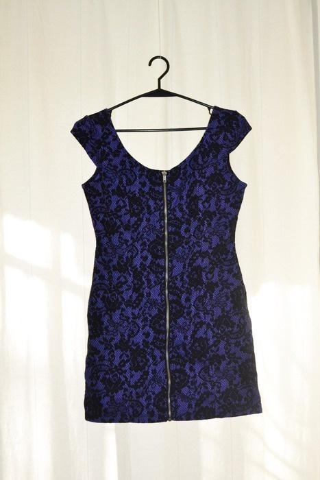 0e5781583e Sukienta vinted ażurowe wzory na zamek zip HM 36 w Suknie i sukienki ...