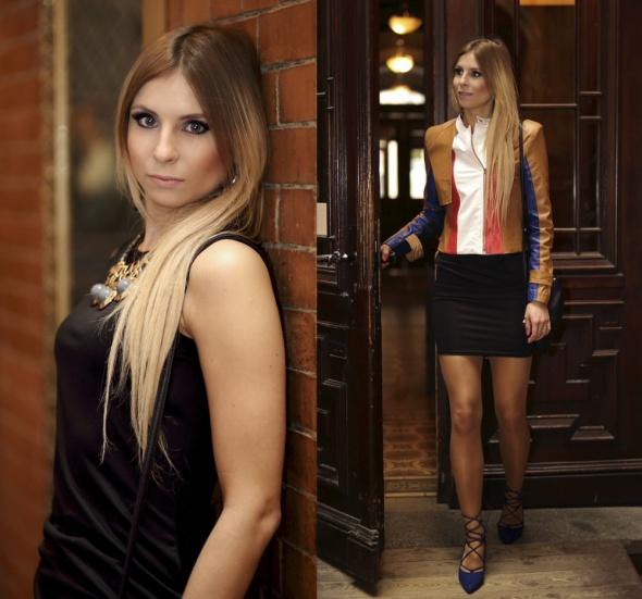 Blogerek Lace up heels