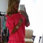 Piękna spódnica falbanka komplet Natalia Siwiec