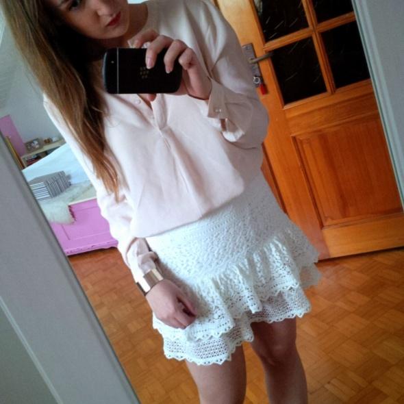 Mój styl biel i różyk