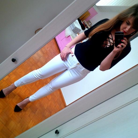 Mój styl biało czarno