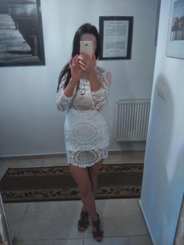 Sexi Seksowna sukienka mini
