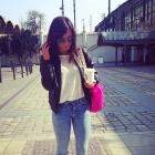 nike white jeans blue
