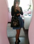 black & blue...