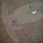 Komplecik śpioszki i bluzeczka 62cm