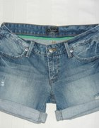 jeansowe krótkie spodenki Diverse