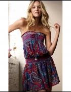 Victoria s Secret sukienka boho hippie...