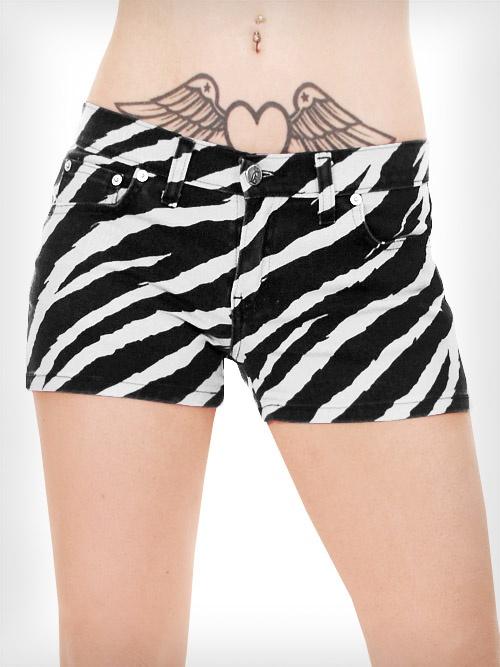 Spodenki Glove Star zebra