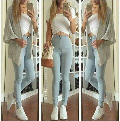 Bluzka spodnie sweterek