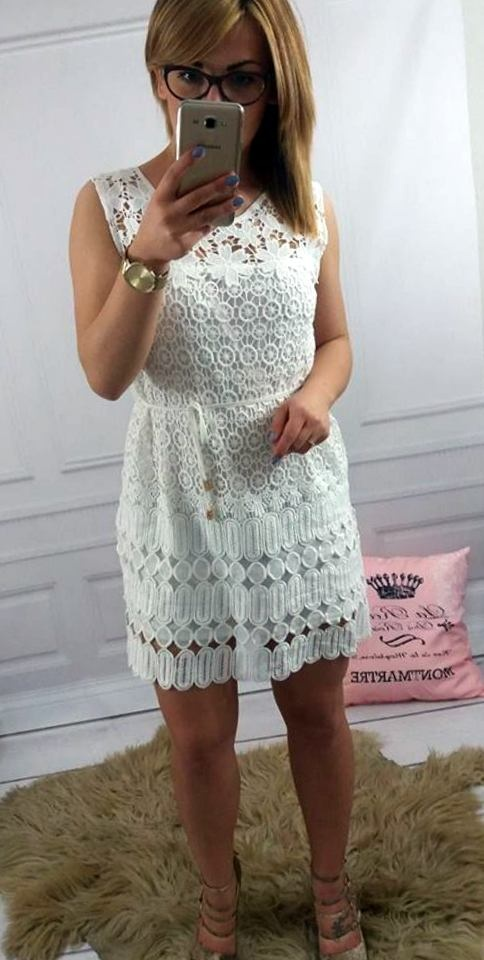 Mój styl BOHO WHITE DRESS