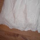 biala spodniczka hm haft