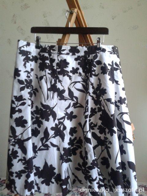 Spódnice spódnica kwiaty 44 46