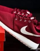 Nike roshe run bordowe...