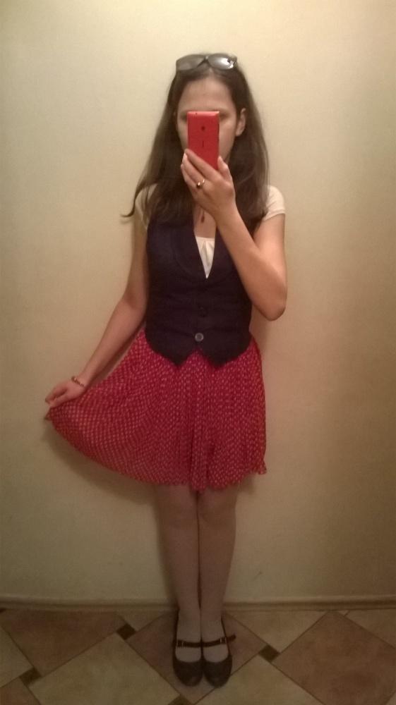 Mój styl Czerwony groszek