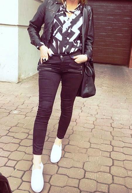Codzienne black and white