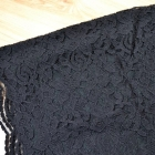 HM koronkowa czarna spódniczka mini 38