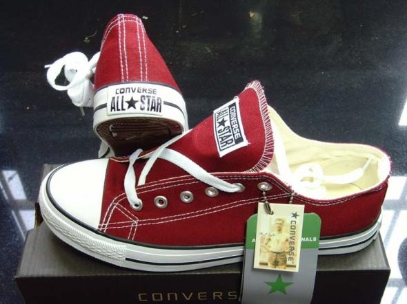 Converse all star czerwone od 35 do 45