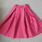 Piękna bordowa spódnica shein S