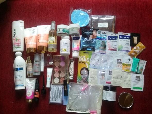 Zestawy Zestaw kosmetyków mega paczka