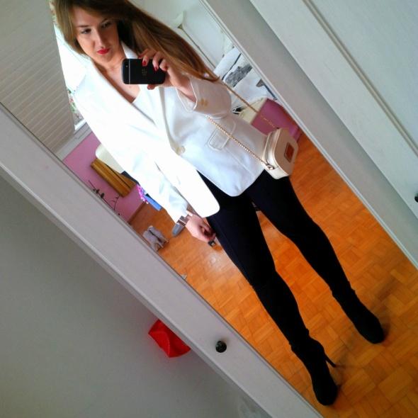 Mój styl Biało czarnyy