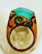 Ręcznie wykonywane pierścionki z akcentem natury