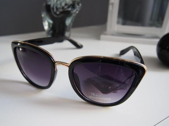 Okulary przeciwsłoneczne kocie oczy eleganckie HIT