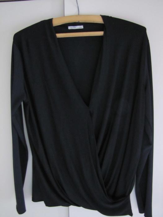 Sweter koszula zakladka
