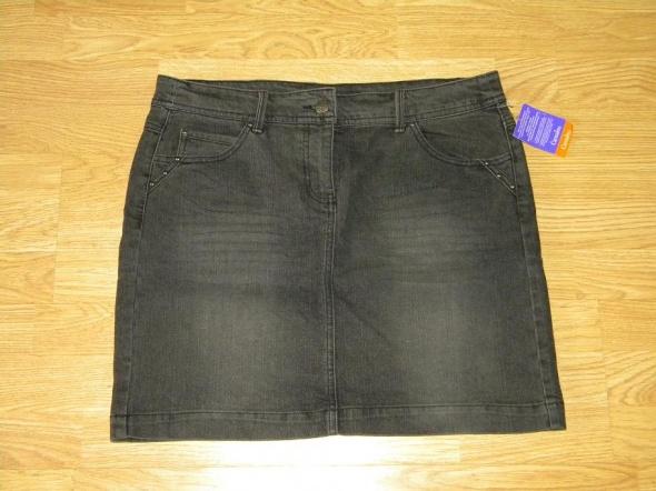 Spódnice nowa Camaieu szara jeansowa spódniczka