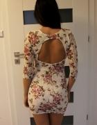 Koronkowa sukienka gołe plecy xs