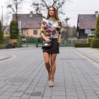 Koszula w kwiaty Halia & Olivka Blog