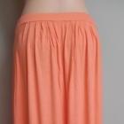długa spódnica brzoskwiniowa