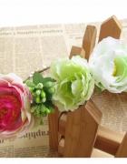 Wianek z kwiatów opaska