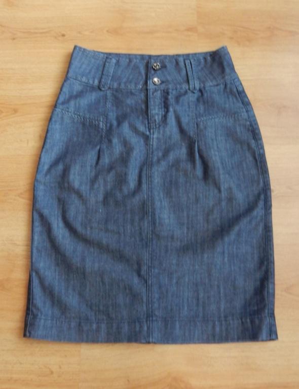Spódnice Spódnica jeansowa ołówkowa