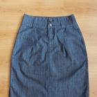 Spódnica jeansowa ołówkowa