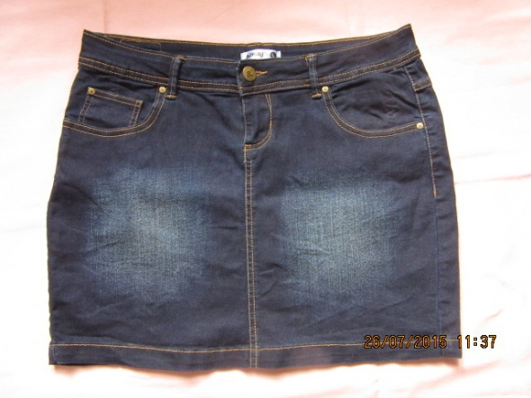 Spódnice Super spódniczka jeans mini Sinsay L granat
