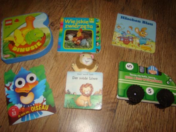 Zabawki Książeczki dla malucha
