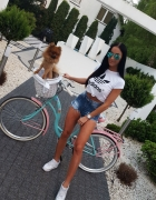 rowerowo...