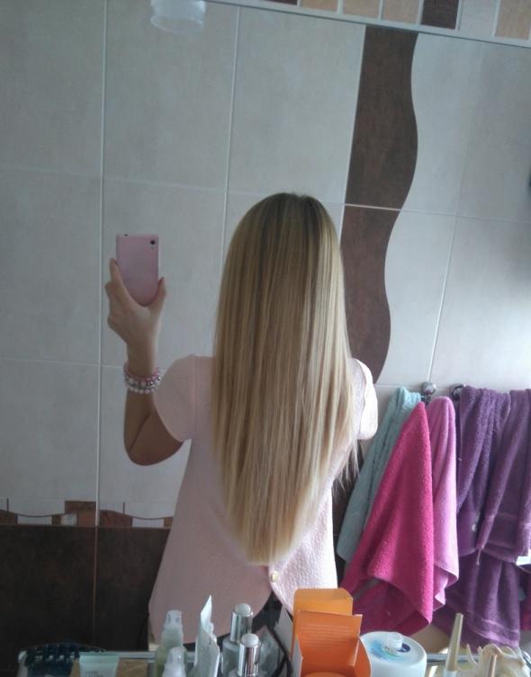 Fryzury Mój aktualny blond