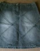 dżinsowa czarna spódnica...