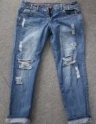 Spodnie przetarcia xl