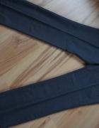 Eleganckie męskie spodnie szare...