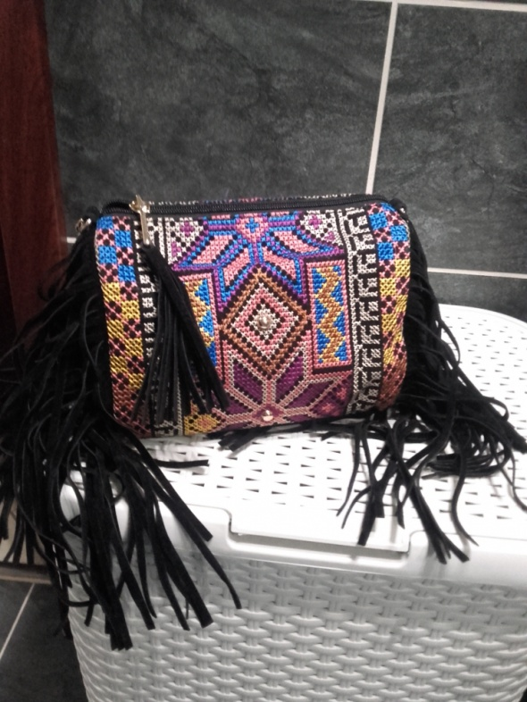Reserved torebka z frędzlami wzory...