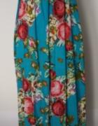 Mia moda letnia sukienka maxi floral r 16