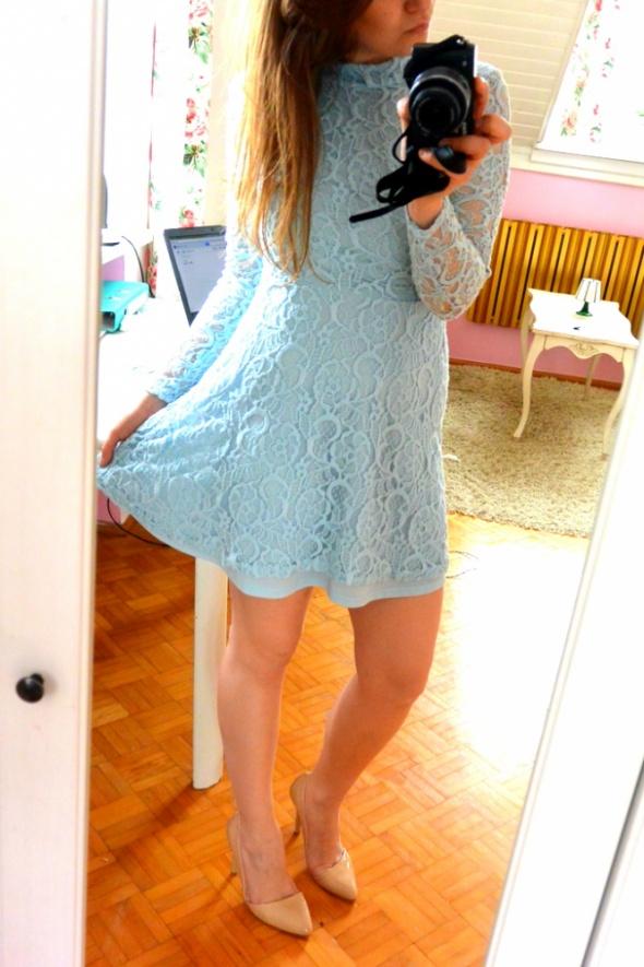 Eleganckie Baby blue