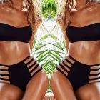 Bikini strój kąpielowy PUSH UP WYSOKI STAN